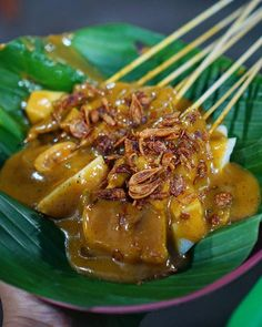It's been a long time I haven't visit youuu my beloved sate padang, and it's so glad your taste is still the same 😋😋😋 ----- Sate Padang &… Sate Padang, Sate Ayam, Indonesian Cuisine, Indonesian Recipes, Beef Recipes, Chicken Recipes, Malaysian Food, Poker Online, Food Pictures