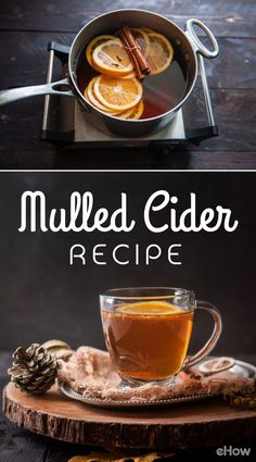 It's mulled cider season! This recipe keeps you warm all winter long while adding a delicous aroma that fills the entire house! Easy recipe here: http://www.ehow.com/how_12343583_mulled-cider-recipe-drink-cool-nights.html?utm_source=pinterest.com&utm_medium=referral&utm_content=freestyle&utm_campaign=fanpage
