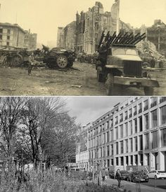 The Chancellery of the Reich / Berlin (above). And now commercial and social buildings (below).