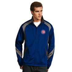 """CHICAGO CUBS MEN'S """"TEMPEST"""" JACKET BY ANTIGUA #ChicagoCubs #Cubs #CubsFans #GoCubs #Chicago"""