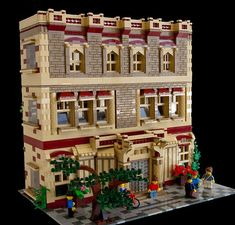 "brickadelics: ""I love the overall appearance of this building! #lego #building #brickadelics http://ift.tt/1CZuqYx """