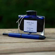 The blues don't vanish around here. #fountainpen #fpgeeks #penandink #pilotpen…