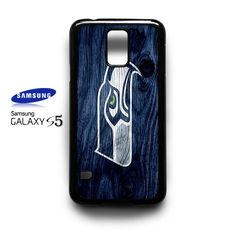 Seattle Seahawks On Wood On Wood Samsung Galaxy S5 S 5 Case Cover NFL