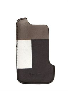 Patchwork Leather case | Rick Owens
