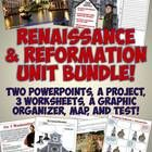 This amazing, comprehensive unit bundle includes a wide array of resources to teach your World History units on the Renaissance and Reformation!   ...