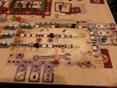 Russian RailRoads - My player board