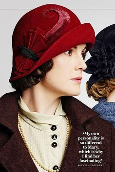 Lady Mary. Love the hat.