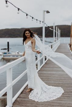 EMMY MAE BRIDAL | #collection2019 #bridalgown #weddingdress #bohobride #bohofashion #bohoweddingdress #goldcoast #veil #totheaisleaustralia #australiandesigner