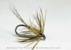 Woodcock Tan Flymph - William Anderson - WilliamsFavorite.com (Wet Fly, Spider, Flymph, Soft Hackle, Soft-hackle, Emerger, Fly Patterns)