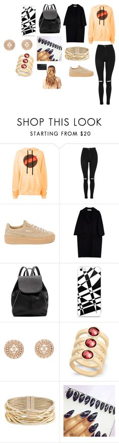 """""""Sans titre #1663"""" by heartss-13 ❤ liked on Polyvore featuring Unravel, Topshop, Puma, Marni, Witchery, Chanel, INC International Concepts, Rosantica and Hershesons"""