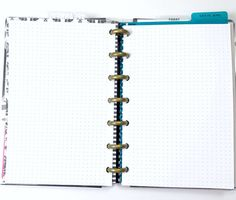 Dot Grid Inserts for the Mini Happy Planner Disc by PlanWithVi