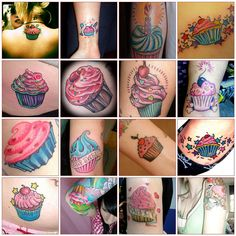 cupcake tattoo research
