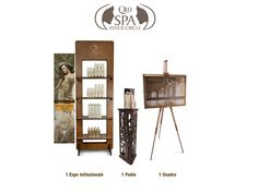 Corner EXPO Set for SPA Inner Circle Hair Reconstruction Certified Salons.  ----  Esposizione Corner per SPA Inner Circle - Saloni Certificati sulla Ricostruzione dei capelli con SPA Enzymetherapy