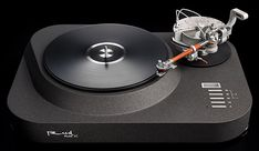 Analog Corner #298: Reed Muse 1C turntable and 5T tonearm | Stereophile.com Technics Sl 1200, High End Turntables, Electrical Energy, Small Moments, High End Audio, Compact Disc, Sound Waves, Record Player, Metal Working