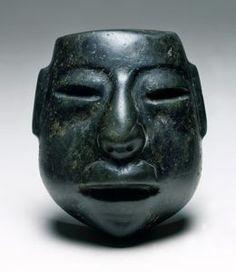 Mask Olmec, Middle Preclassic 900-300 BCE