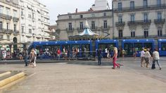 Montpellier town square
