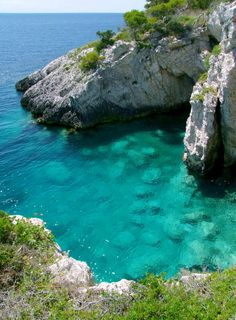 Le Tre Senghe bay in Isole Tremiti, Italy (by niphredil76)., province of Foggia