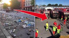 Sophämtarna i Stockholm fortsätter strejka.
