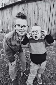 My silly boys