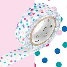 Confetti Patterned Washi Tape