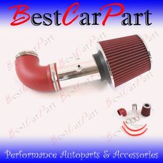 01 02 03 04 Dodge Stratus 27 V6 Short Ram Intake Red Included Air Filter SRDG011R *** To view further for this item, visit the image link.