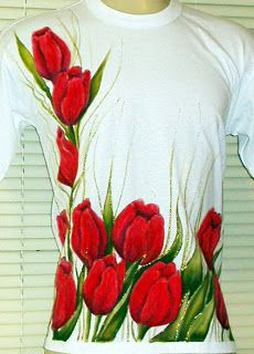 T Shirt Painting, Mural Painting, Mural Art, Fabric Painting, Fabric Art, Diy Painting, Fabric Design, Hobbies And Crafts, Diy And Crafts