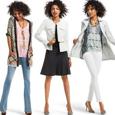#CAbi - Take your wardrobe up a notch with these 3 pieces.