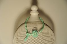 collana SAND - cod. 01 - perle e cristalli necklace SAND - pearls and crystals http://www.lacortevenezia.it/