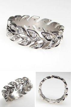 wheat-band-diamond-eternity-wedding-ring-platinum-dia912