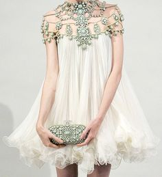 a dress by Marchiesa spring 2011 RTW