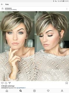 Mess short hair styles for women pixie cuts trendy hairstyles and colors 2019 short hairstyles – Artofit Short Hair With Layers, Short Hair Cuts For Women, Medium Hair Styles, Short Hair Styles, Hair Color And Cut, Great Hair, Bob Hairstyles, Trending Hairstyles, Baddie Hairstyles