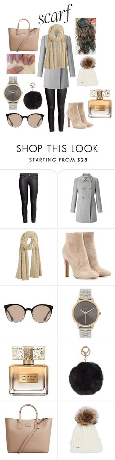 """""""Untitled #65"""" by cnchasson ❤ liked on Polyvore featuring H&M, Miss Selfridge, Calypso St. Barth, Gianvito Rossi, Balenciaga, Nixon, Givenchy, Humble Chic and MANGO"""