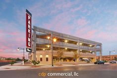 Gilbert Parking Garage #McCarthy https://cdpcommercial.com/Architectural Photographer Phoenix