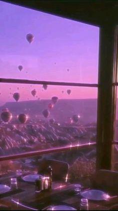 Go on an Air Balloon Ride Aesthetic Movies, Aesthetic Themes, Film Aesthetic, Purple Aesthetic, Aesthetic Images, Aesthetic Videos, Aesthetic Pastel Wallpaper, Aesthetic Backgrounds, Aesthetic Wallpapers
