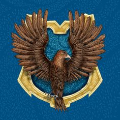 Pottermore Ravenclaw House Crest illustration