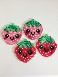April 2015 078 Easy Perler Bead Patterns, Melty Bead Patterns, Perler Bead Templates, Diy Perler Beads, Perler Bead Art, Pearler Beads, Fuse Beads, Beading Patterns, Loom Patterns