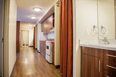 A view inside a Pinecrest House unit. Queen's University, University Of Alberta, Student Living, Study Space, Year 2, Dorm, Lounge, The Unit, Modern