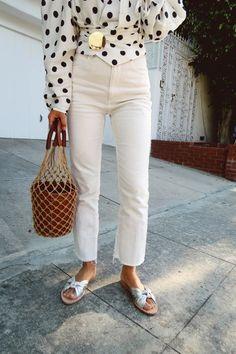 Polka dot outfit ideas