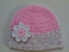 Crochet Baby Hat and Baby Booties Set beanie by TatjanaBoutique