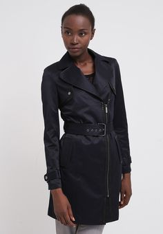 Morgan Trenchcoat - marine/noir - Zalando.no