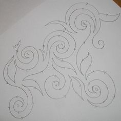 Swirly swirls. Learn this!-------------- Love anything I can free motion overall quilting.