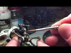 Two brush Blending – On the Miniature Highlighting