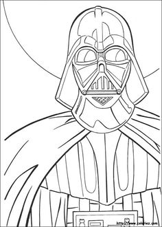 147 meilleures images du tableau coloriage star wars coloring pages coloring books et - Coloriage star wars 3 ...