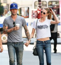 Adam Levine and Behati PrinslooIt was the engagement heard around the world when Adam Levine announced he was officially off the market. In the summer of 2013, Adam confirmed he had indeed gotten down on one knee and asked Victoria's Secret model Behati Prinsloo to be his wife. She said yes, of course, and the two have been spotted looking very much in love on both coasts ever since. We have a sneaking suspicion that this will be one sexy wedding.