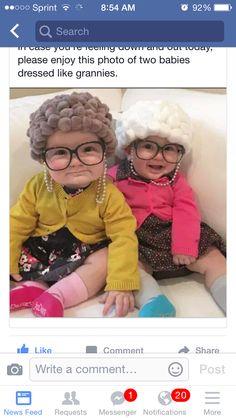 Baby grannies costume