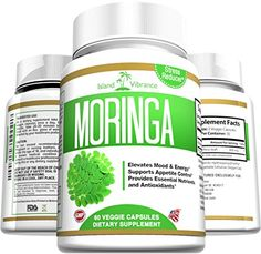 Moringa Oleifera Leaf Powder Capsules - Ultra Pure Natural Appetite Suppressant for Fast Weight Loss, Energy Booster, Superfood with Potent Antioxidants for Increased Mental Clarity, Decreased Stress and Immune Vitality, 60 Veggie Caps Made in USA Island Vibrance http://www.amazon.com/dp/B00YX13TGO/ref=cm_sw_r_pi_dp_e.l5wb0EV7DWK