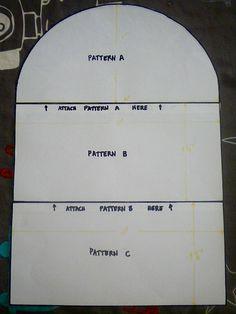 KitchenAid Mixer Cover Pattern Tutorial