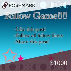 Follow Game!!! Follow all the steps please! Louis Vuitton Bags