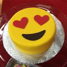 We have had lots of requests for emoji party pretties! This cake is darling! TODAY Show with ・・・ emoji cake from Yolanda Gampp l How To Cake It this morning on TODAY! My Birthday Cake, 10th Birthday, Birthday Ideas, Almond Cakes, Cute Cakes, Party Cakes, Let Them Eat Cake, Cake Designs, Amazing Cakes