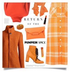 """""""Monochrome: Pumpkin Spice"""" by marina-volaric ❤ liked on Polyvore featuring Creatures of the Wind, Lands' End, Chloé, Givenchy, Elle Macpherson Intimates and pumpkinspice"""